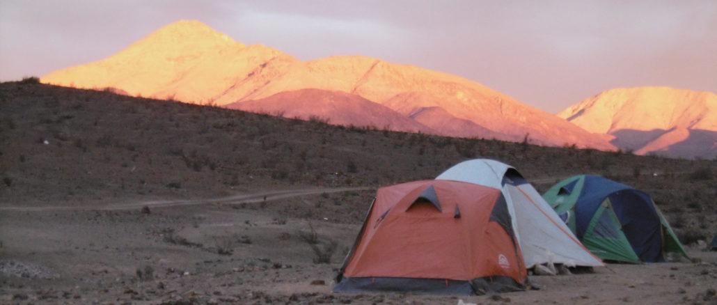Die Sonnenuntergänge sind in der Atacamawüste immer wieder spektakulär
