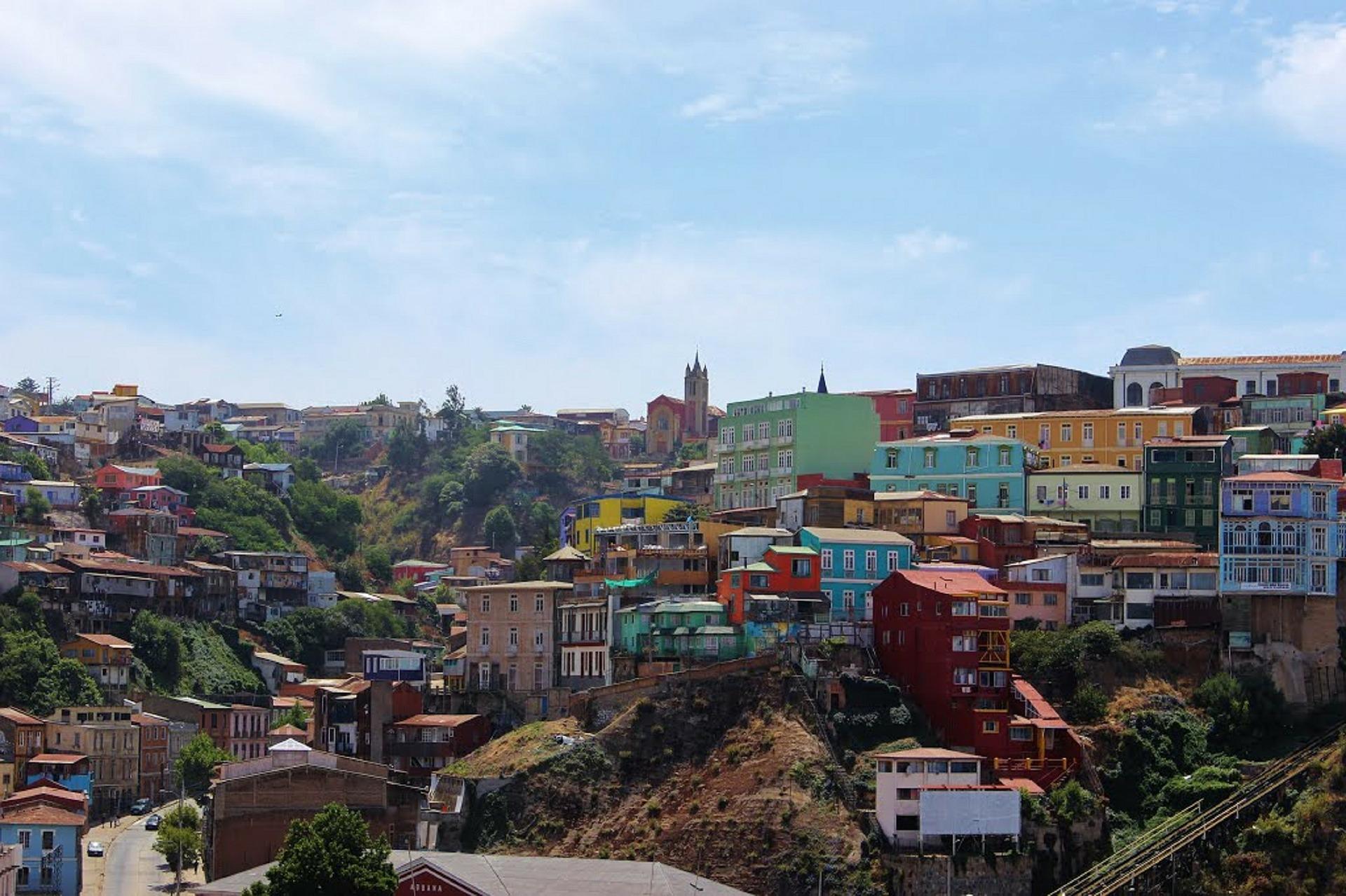 Der Cerro Alegre in Valparaíso