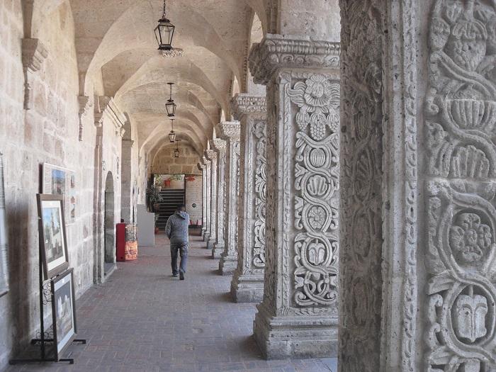 Der wunderbare Innenhof der Claustro Jesuita.