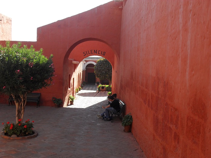 Arequipa Sehenswürdigkeiten Kloster Santa Catalina