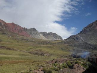 Mit der Andenbahn nach Huancayo