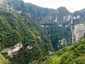 Der Gocta-Wasserfall
