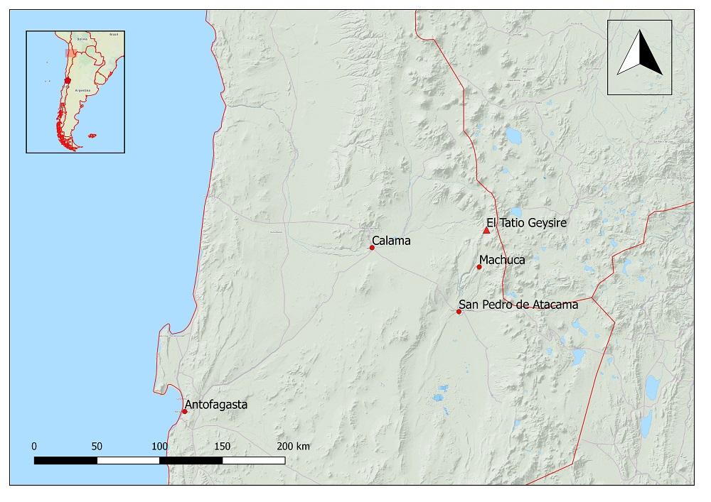 El Tatio Geysire San Pedro de Atacama