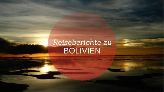 Seite mit allen Reiseberichten zu Bolivien bei Adventureluap