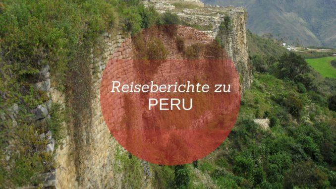 Reiseberichte zu Peru auf Adventureluap
