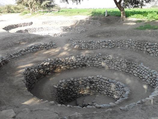 Nazca - die Aquädukte von Cantallo