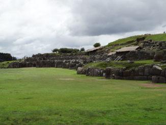 Die obere Mauer der Festung