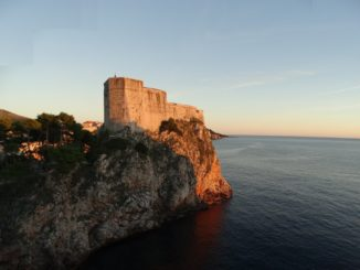 Dubrovnik kroatien lovrijenac