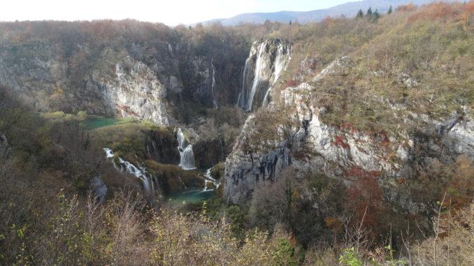 Plitvicer Seen Kroatien wasserfall