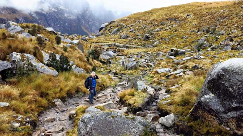 trekking in peru santa cruz trek