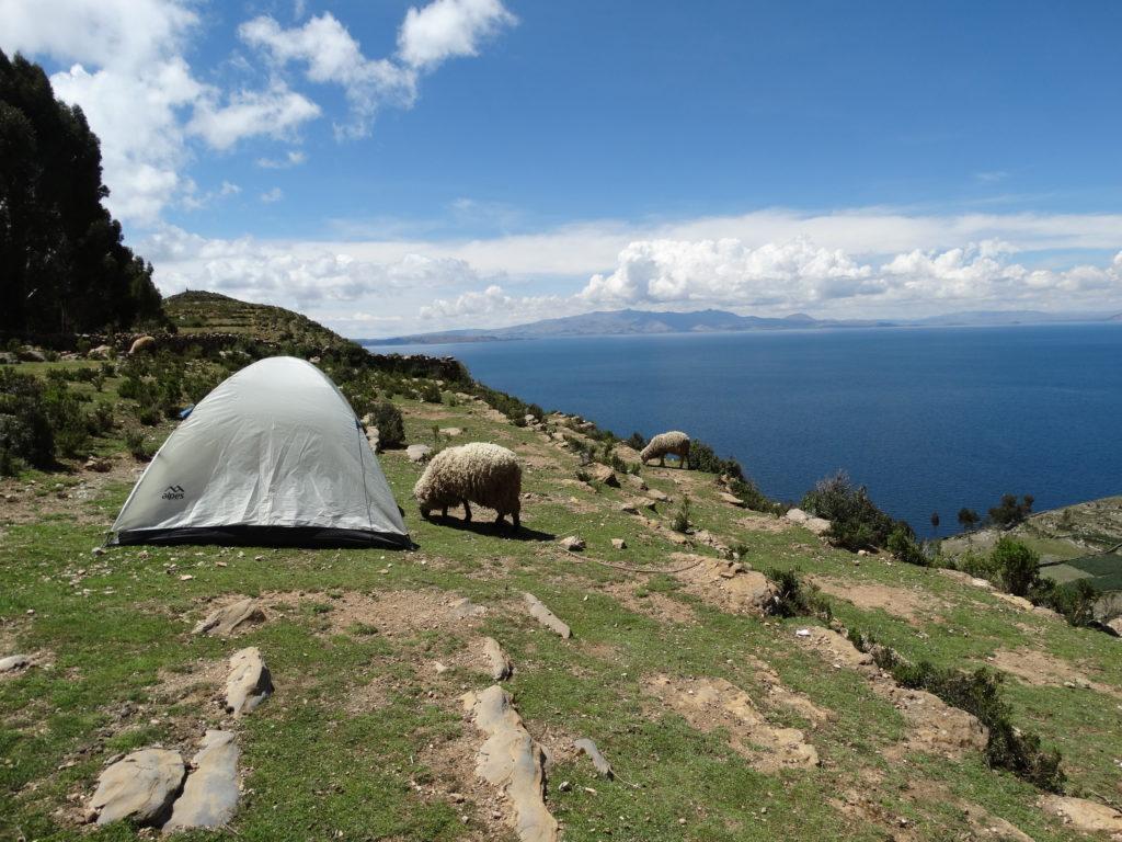 bolivien trekking isla del sol sonneninsel