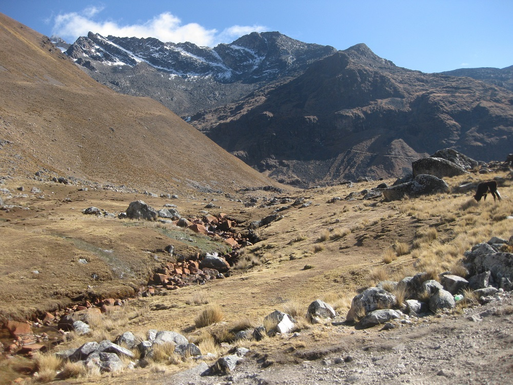 trekking in Bolivien la paz takesi trek