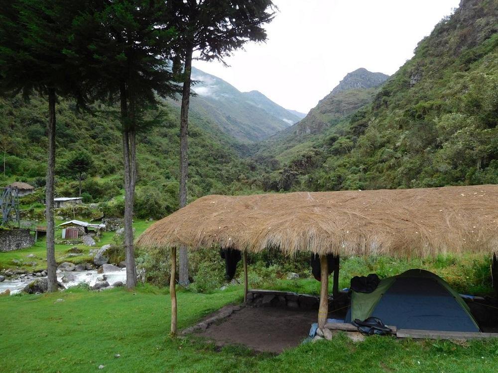 Choro trail trekking bolivien la paz