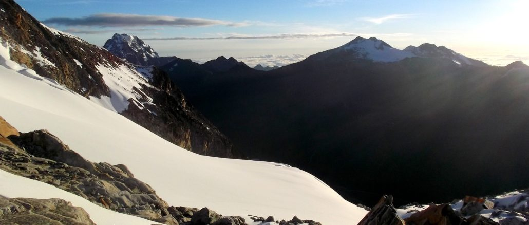 trekking in bolivien la paz huayna potosi
