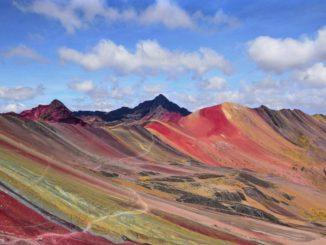 trekking in peru wanderungen in peru rainbow mountain cusco