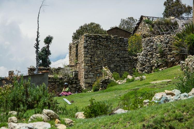 Sampaya, das verwunschene Dorf in Bolivien am Titicacasee.