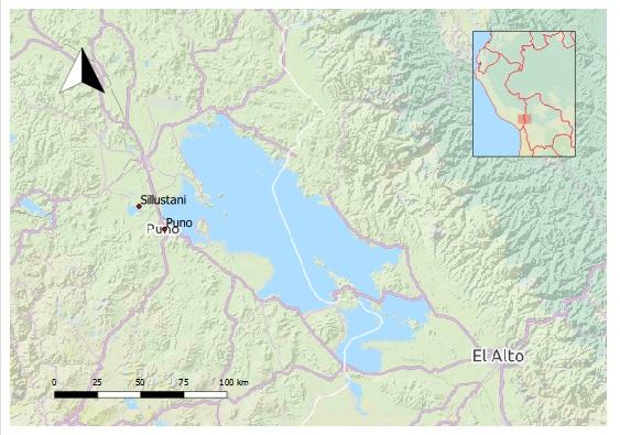 Die Grabtürme von Sillustani befinden sich rund 20 km nordwestlich von Puno.