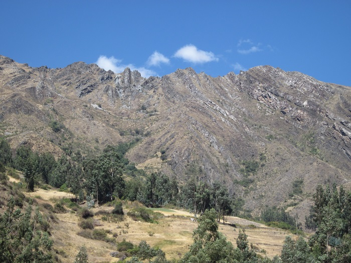 Chavin de Huantar Landschaft