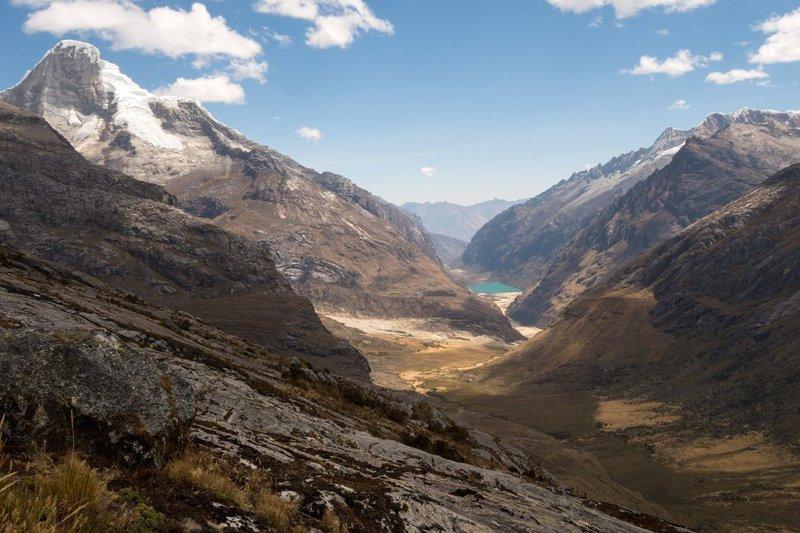 Huaraz Peru Santa Cruz Trek