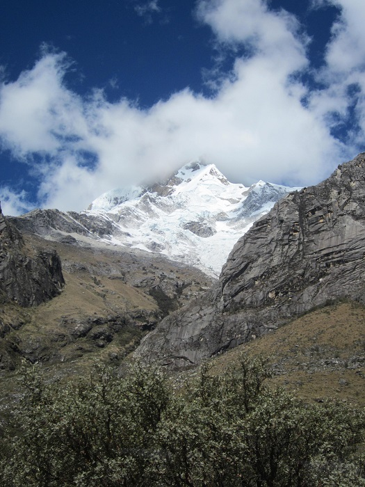 Laguna Llanganuco Huascaran Nationalpark Huaraz Cordillera Blanca