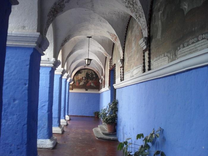 Die Pinakothek im Kloster Santa Catalina