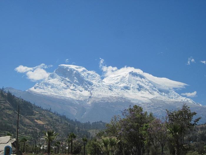 Yungay Huaraz Peru Huascaran