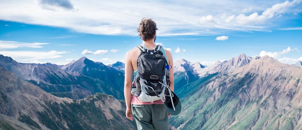 backpacking rucksack praktische fächeraufteilung