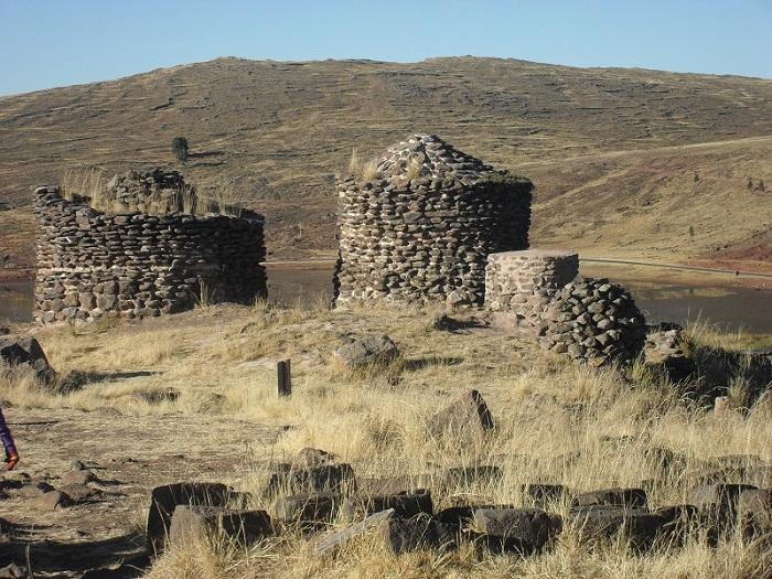 Ruinen und Stätten in Peru - Sillustani