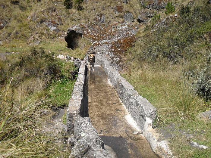 Cumbe Mayo Peru Äquadukte