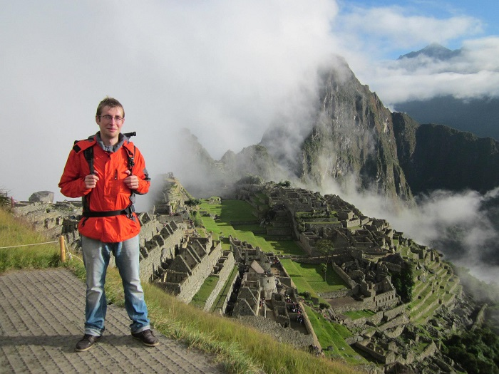 Ruinen und Stätten in Peru Machu Picchu
