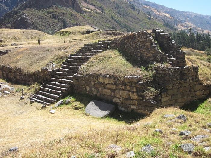 Ruinen und stätten in Peru Chavin de huantar bei huaraz