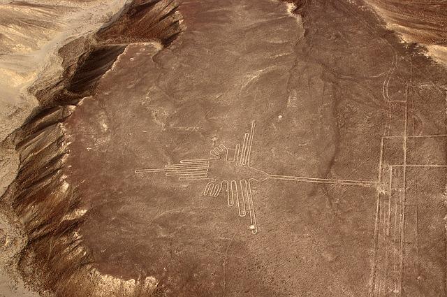Ein Flug über die Nazca - Linien