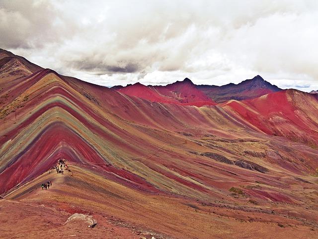 Peru Sehenswürdigkeiten Rainbow Mountains