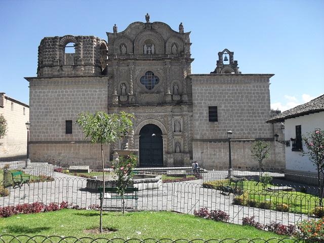 Peru Sehenswürdigkeiten Cajamarca Iglesia Belen