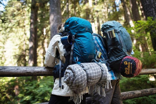Backpacking und nachhaltiges reisen - slow travel