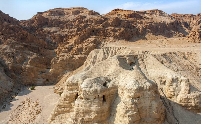 Israel Backpacking - Qumran höhlen