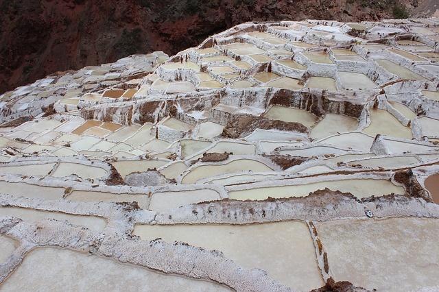 Heiliges Tal Peru Salzterrassen