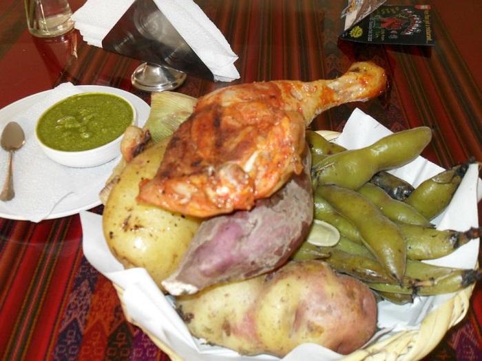 tradionelle südamerikanische gerichte pachamanca peru