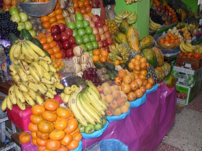 mercado südamerika früchte