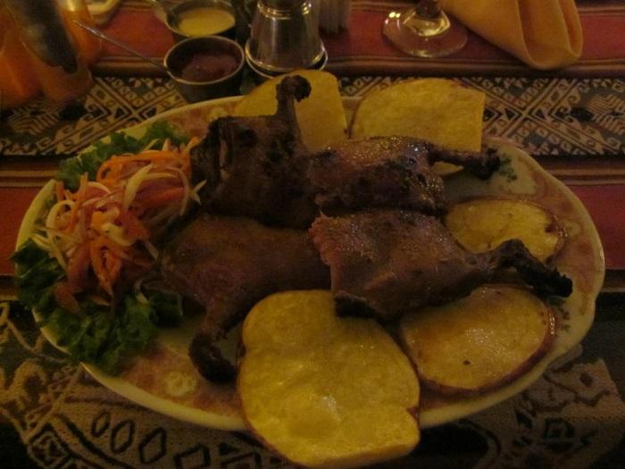 Südamerika Gerichte