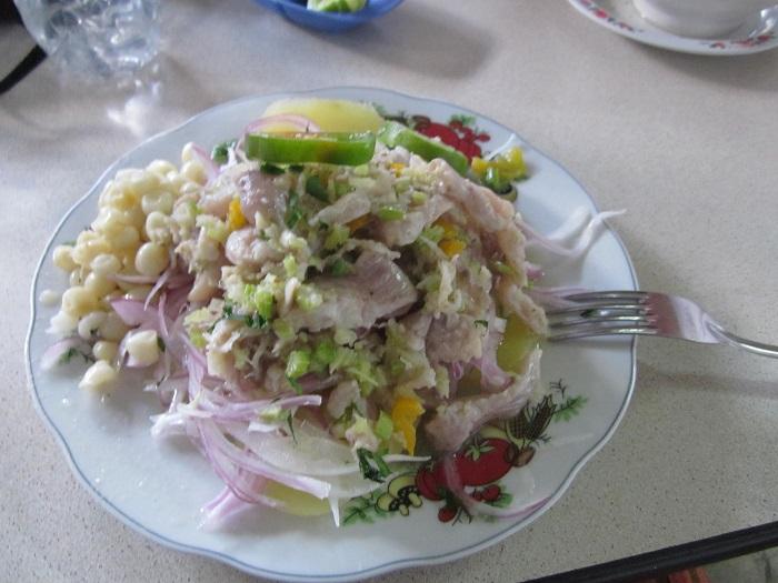 Südamerika Gerichte Ceviche