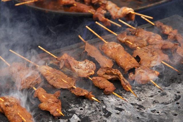 Gerichte Südamerika Anticuchos