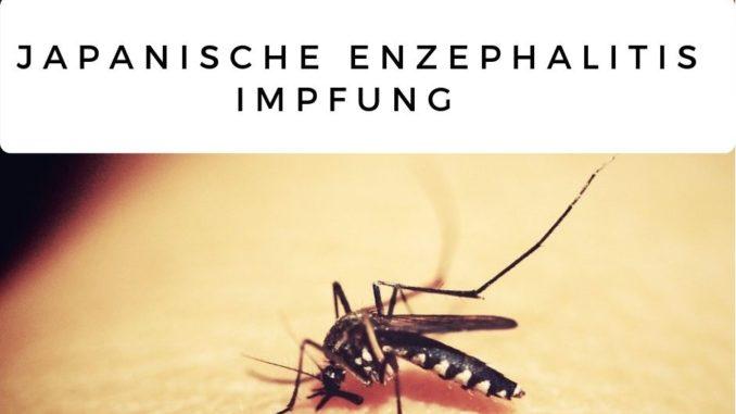 Impfung Japanische Enzephalitis