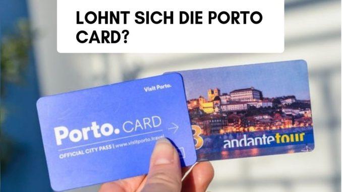 porto card lohnt sich - ja oder nein