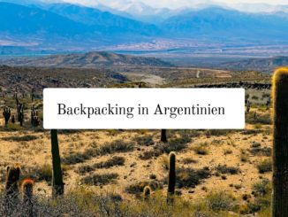 Argentinien Backpacking