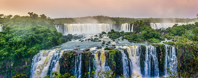 Argentinien Backpacking Iguazu wasserfälle