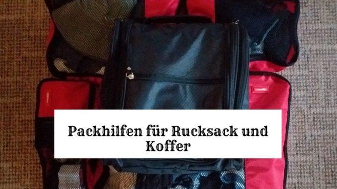 Packhilfe Packwürfel Kulturbeutel