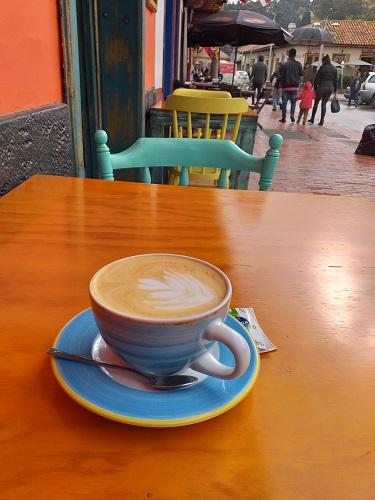 Cafe kolumbien zipaquira