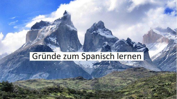 gründe zum spanisch lernen